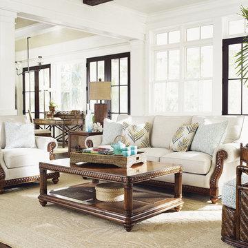 Bali Hai - British West Indies Living Room