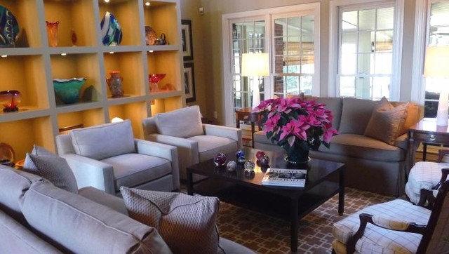 Contemporary Living Room by Brock Moran