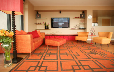 Color Combos: Khaki and Tangerine