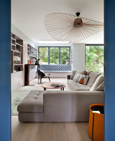 Contemporain Salon by Kingston Lafferty Design