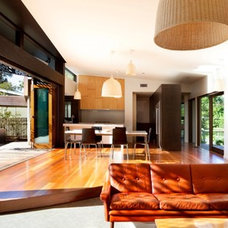 Modern Living Room by Simon Couchman Architects