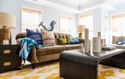 Room of the Day: Lighter Look for a Townhouse Great Room