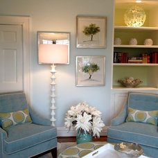 Traditional Living Room by Millbrook Circle Interior Design