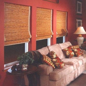 Bamboo Shades Gallery