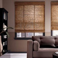 Traditional Roman Shades by Southwest Interiors