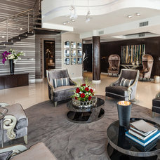 Contemporary Living Room by Zelman Style Interiors