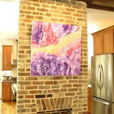 Traditional Living Room by Jennifer Latimer Fine Art