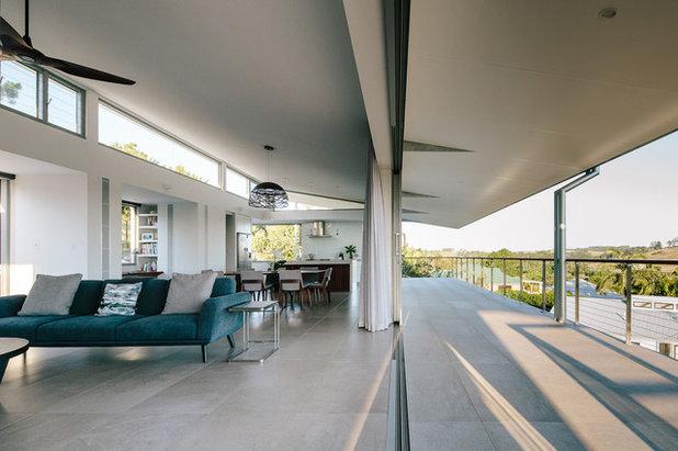 Modern Living Room by Davis Architects