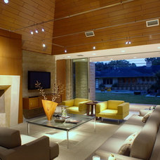Contemporary Living Room by Chris Lewis Architecture