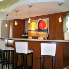 Contemporary Living Room by Gerardo Cors Arquitectos