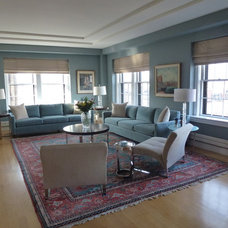 Contemporary Living Room by Barbara Jacobs Color and Design