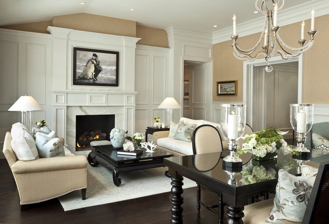 Traditional Living Room Barclay Butera Living on the Coast