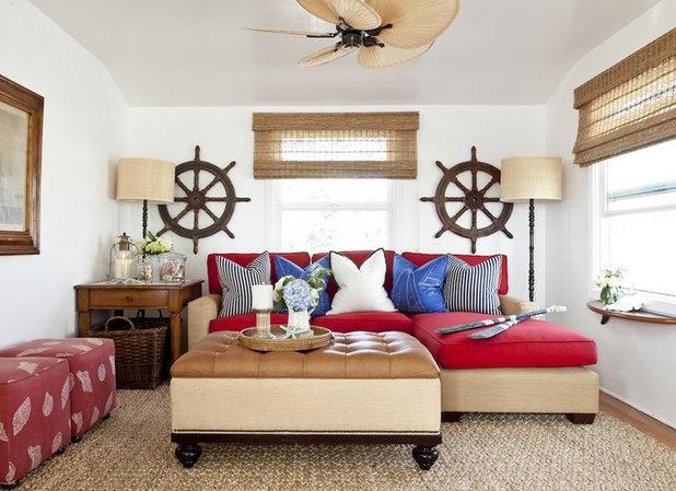 Contemporary Living Room Barclay Butera Living on the Coast