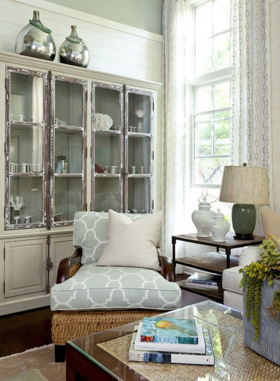 Shabby-chic Style Living Room by Gibbs Smith Publishing