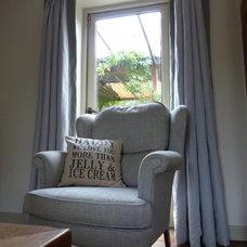 Mediterranean Living Room by smb interior design