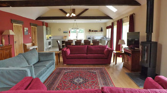 Barn Conversion with beamed ceiling