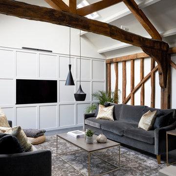 Barn Converted for Fiona Duke Interiors