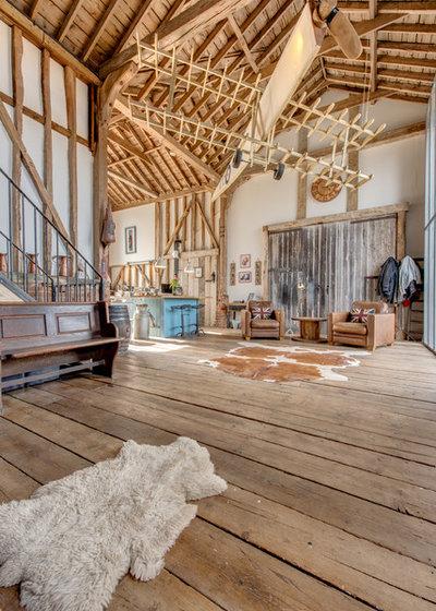 Rustic Living Room by Adrydog