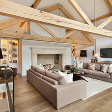 Contemporary Living Room by London Interiors