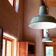 Contemporary Living Room by Barn Light Electric Company