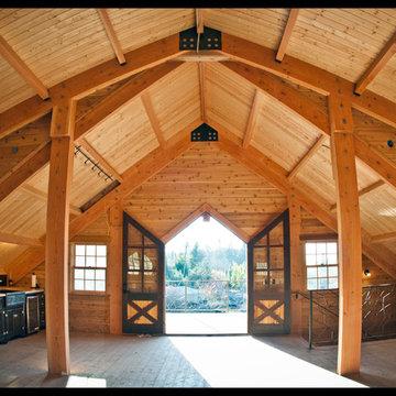 Barn Loft Living Area