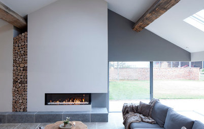 Decorating: Warm Up Your Home With a Cosy Contemporary Fireplace