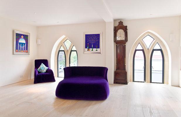 Scandinavian Living Room by London Residential AV Solutions Ltd