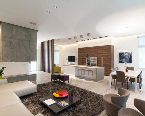 Interior Design Mandir Home Contemporary Pooja Mandir Living Room With A  Concrete Fireplace Part 96