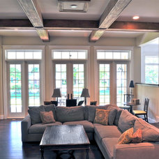 Traditional Living Room by Michaelson Homes LLC
