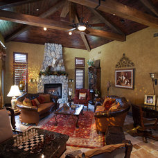 Rustic Living Room Barrington