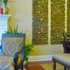 Asian Dining Room by Tiffany Brooks, HGTV Host/ You and Your Decor