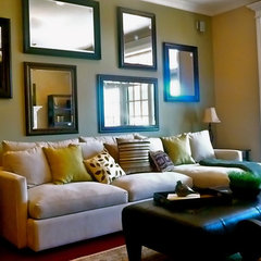 contemporary living room by Tiffany Brooks