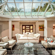 Contemporary Living Room by Dennis Mayer, Photographer