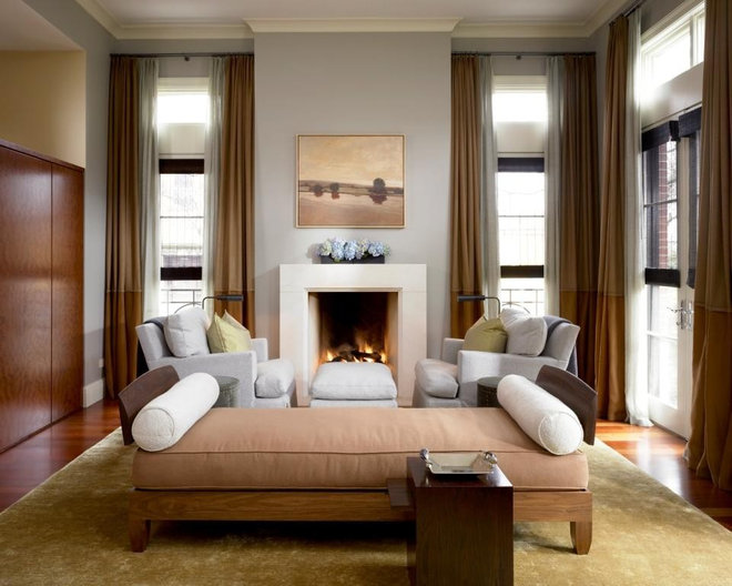 Modern Living Room by COOK ARCHITECTURAL Design Studio