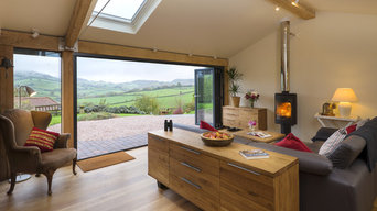 Barton Barn Extension with Bi-folds