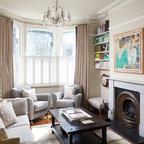 Tenement Project Edinburgh Traditional Living Room
