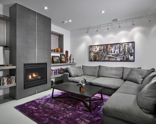 Basement Living Room Simple Basement Living Room  Houzz