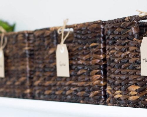Organizing With Baskets Home Design Ideas, Pictures, Remodel and Decor