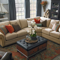 Contemporary Living Room by Bassett Furniture