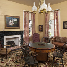 Traditional Living Room by Volz O'Connell Hutson