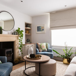 Design ideas for a classic living room in Other.