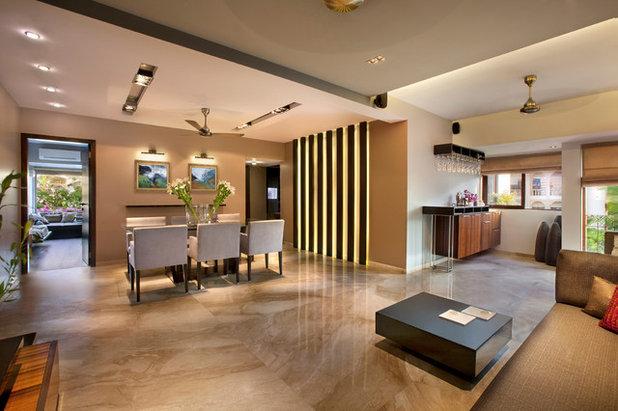 Modern Living Room Bathija Residence