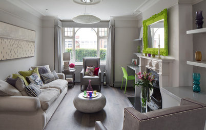 Houzz Tour: Fresh, Sophisticated Redo Wakes Up a Tired London Flat