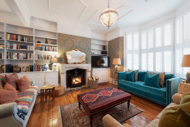 Traditional Living Room by Tim Clarke-Payton.com