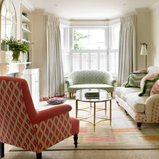Traditional Living Room by Amory Brown
