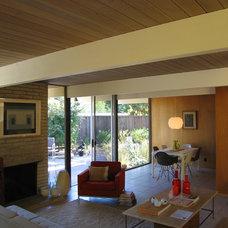Modern Living Room Bay Area Eichlers