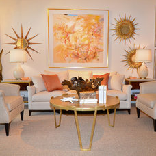 Contemporary Living Room by The Bay Design Store in Naples