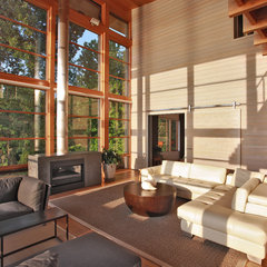contemporary living room by Gardner Mohr Architects LLC
