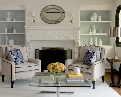 Sconces Above Fireplace | Houzz