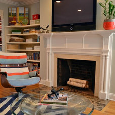 Modern Living Room by colorTHEORY Boston